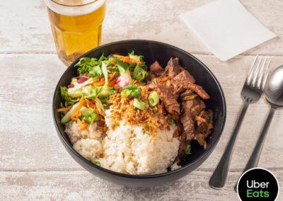 Rice bowl beef